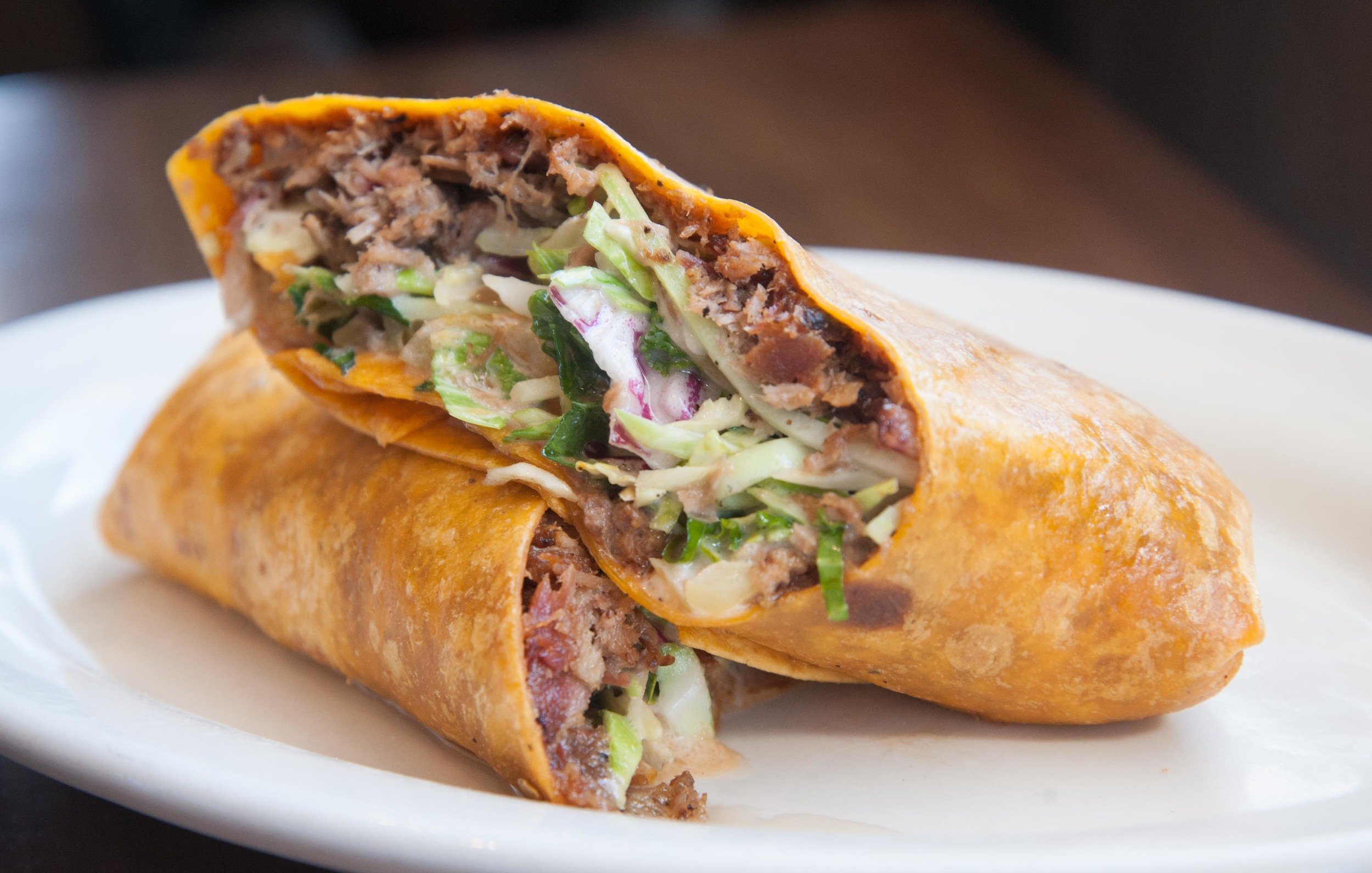 Country Crunch BBQ Wrap