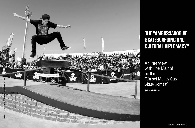 Joe Maloof Interview page 1