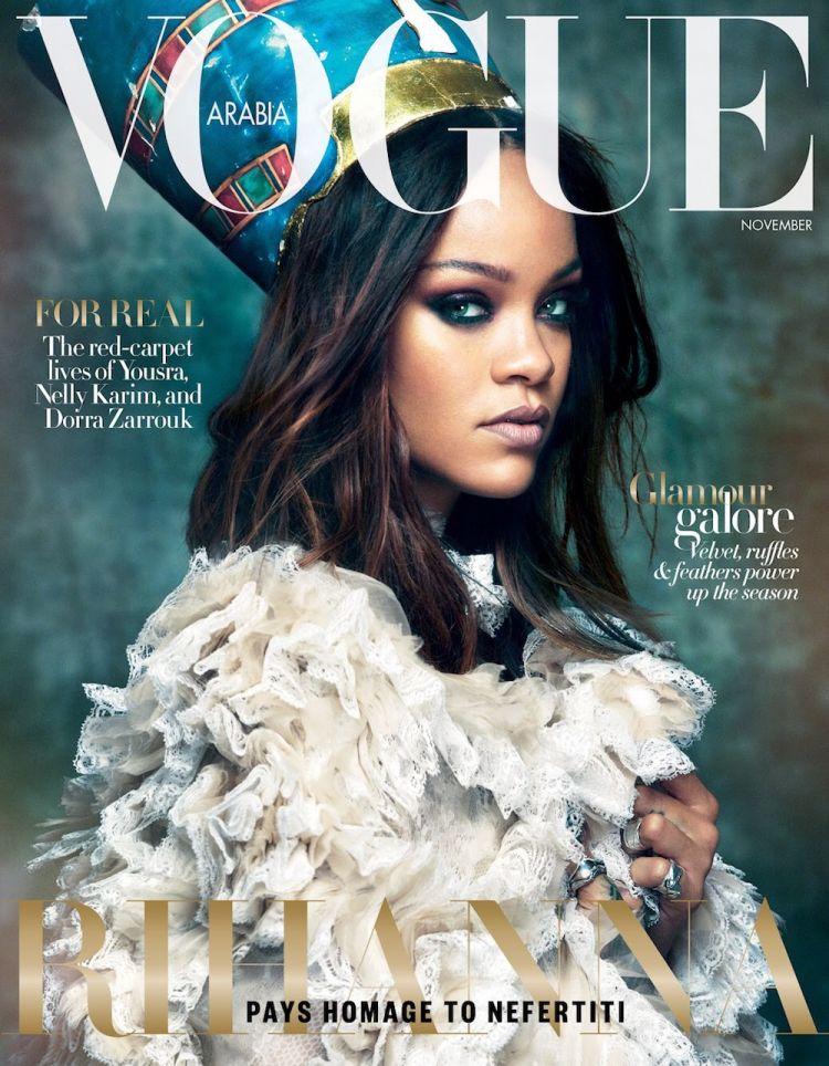 Photographed by Greg Kadel for Vogue Arabia, November 2017.
