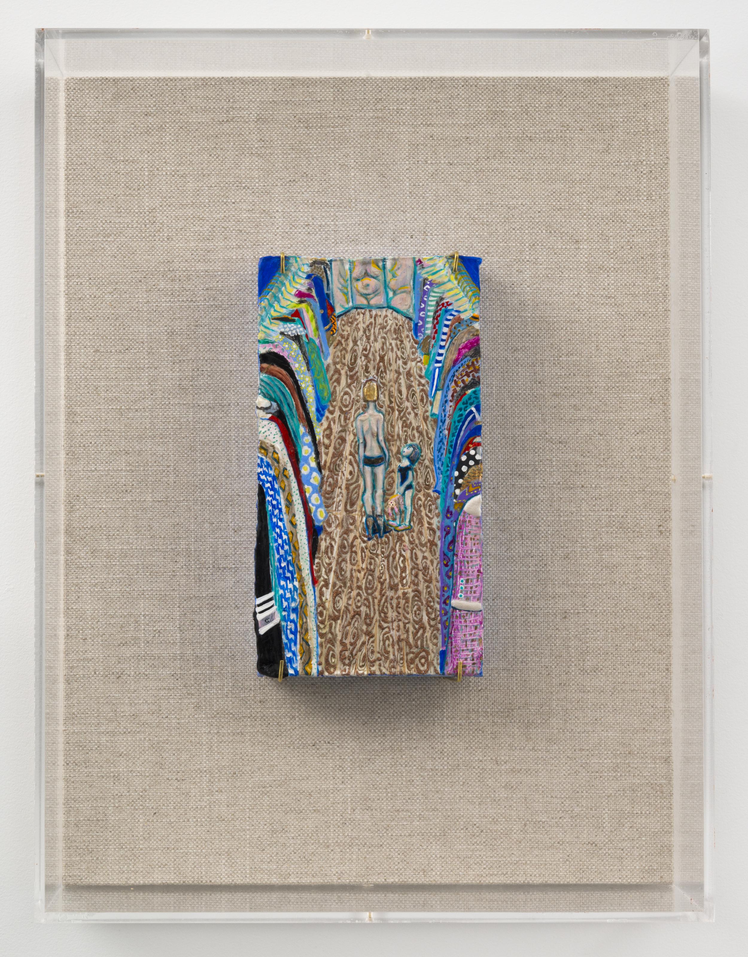 Ahkami_Negar.Fragment_2.gesso_acrylic_and_glitter_on_found_styrofoam.10x5.25x2%22(unframed).With_Frame.jpg