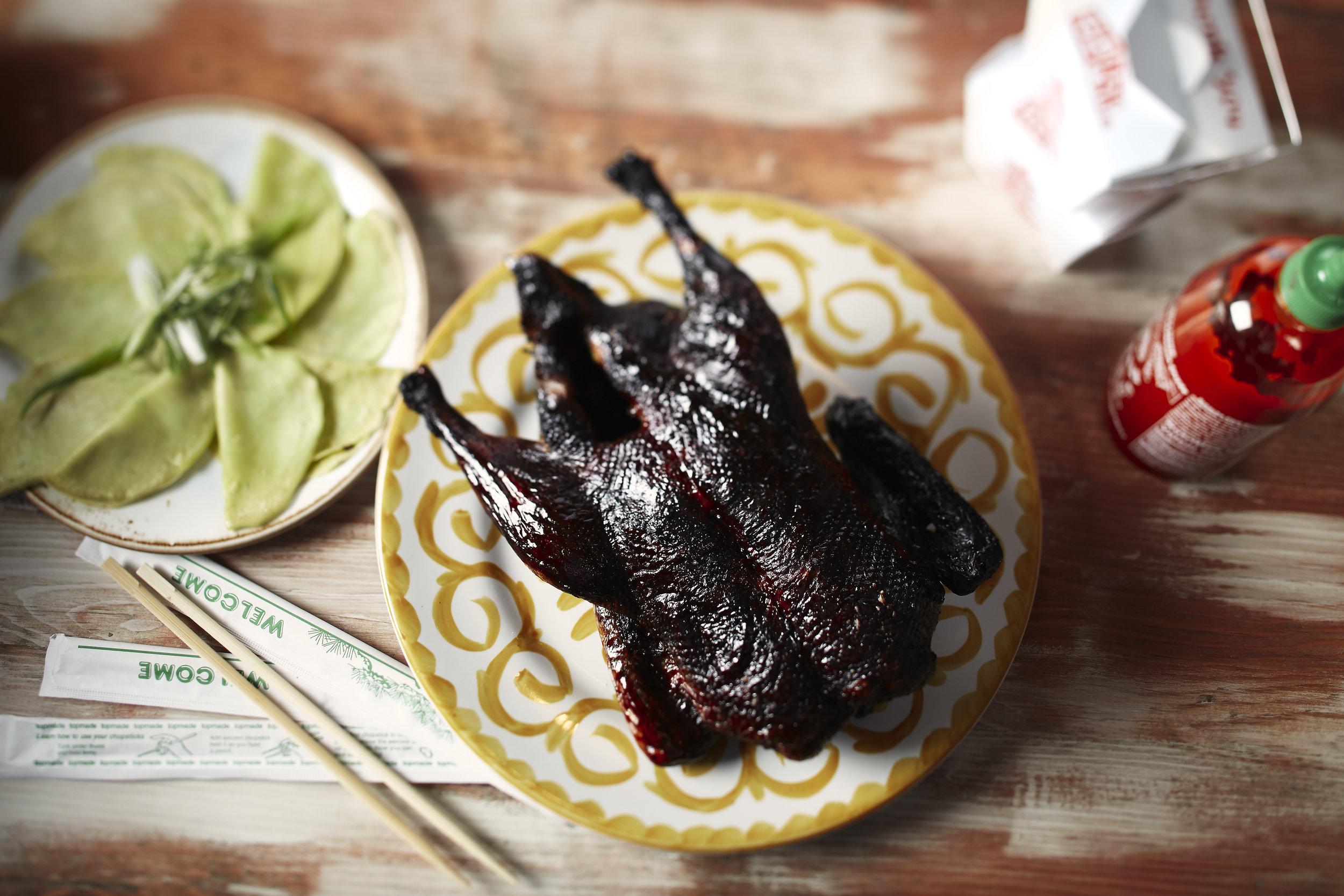 Toque Agency: The Merchant Kitchen, Winnipeg, Blackened Whole Roasted Chicken.