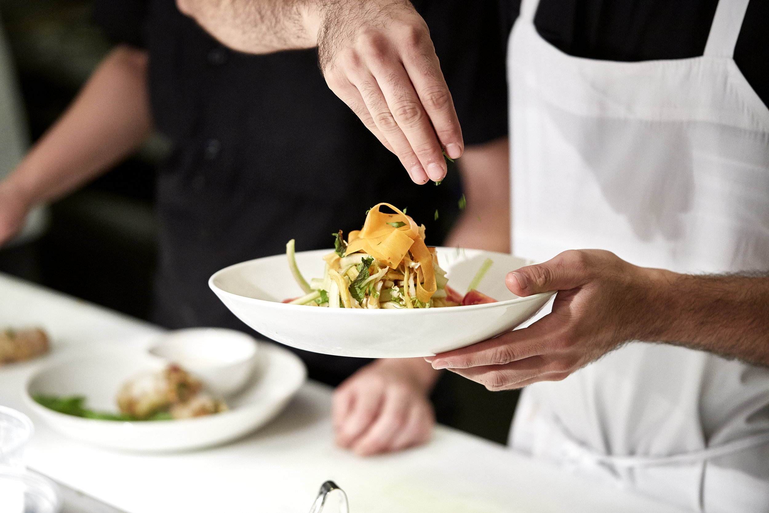 Toque Agency: The Merchant Kitchen, Winnipeg, Mango Salad.