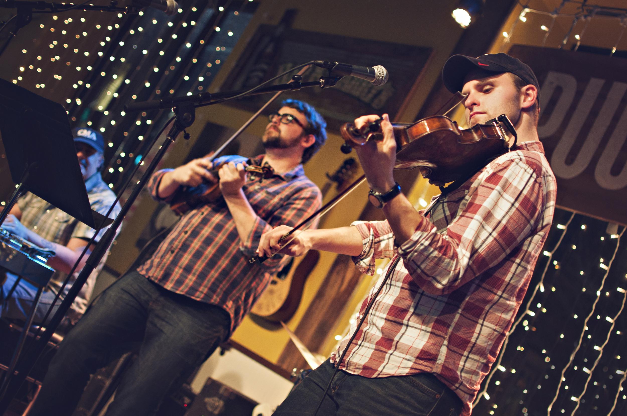 Billy & Brandon at Pucketts