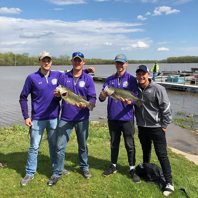 Congratulations to our Bass Fishing Team! They are headed to state, May  17 and 18!!! They took 2nd in the tournament today to get them there! Way to go boys! #itsagreatdaytobeacharger