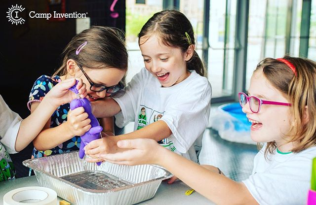 Camp Invention 2019 is just around the corner! We are so excited and ready for the kids to come explore, learn and have a blast! It's not too late to join us- July 22-26! campinvention.org