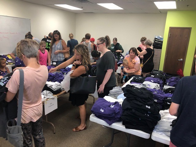 Didn't get a chance to swing by the Shirt Swap Saturday? That's okay! Room 207 will be open from 12 pm today till 6 pm tonight. If you are unable to attend those hours any remaining clothing will be put on the stage in the High School Gym after today! Entrance today will be the same as Saturday and tomorrow we ask that you use the Visitor's entrance. #WeArePCS