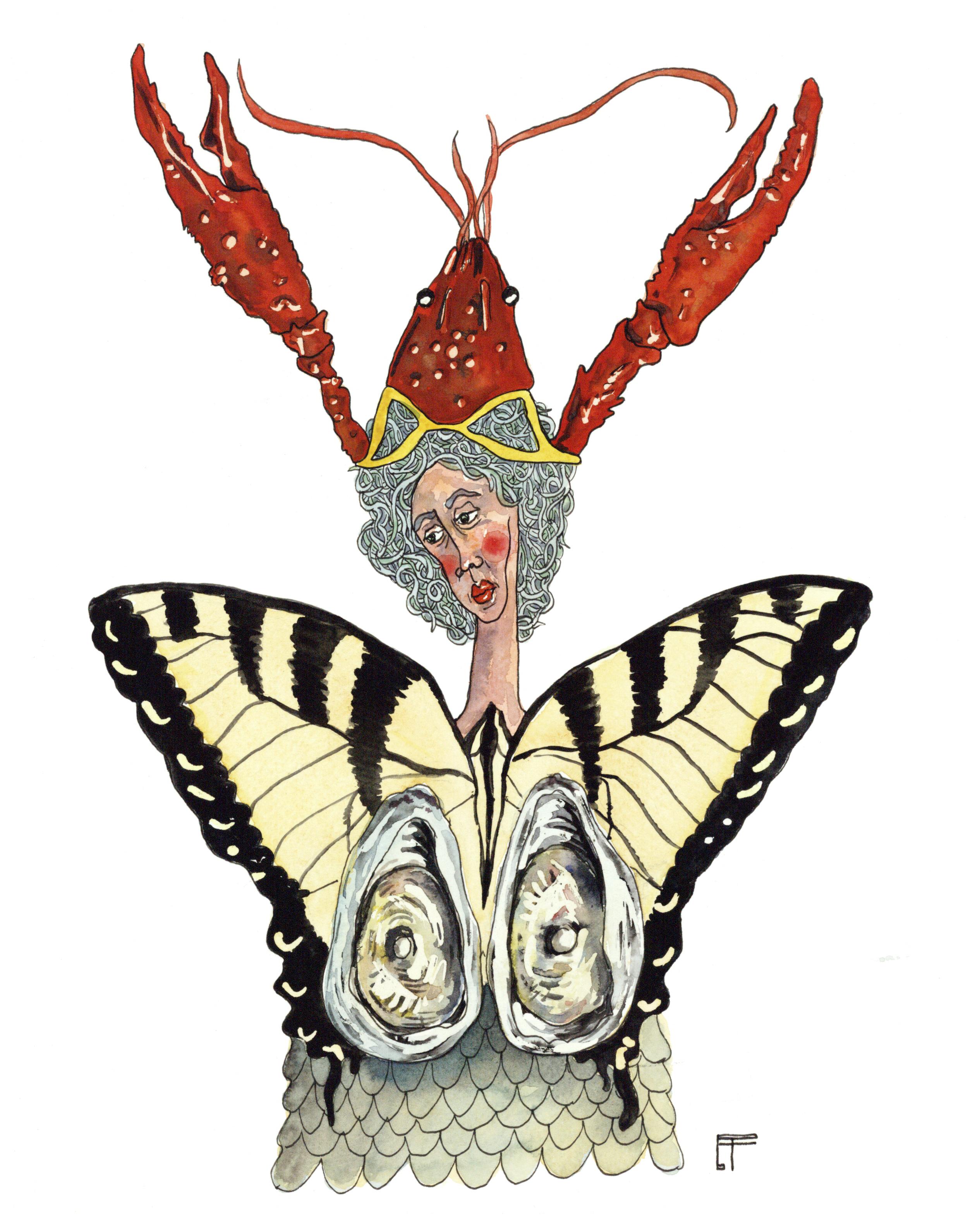 Louisiana Deity: Swallowtail