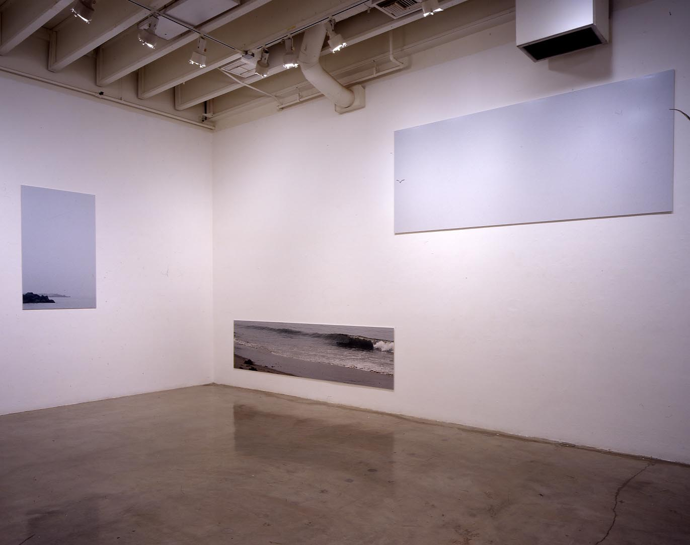 Land and Sea (installation), Peggy Phelps Gallery, Claremont Graduate University, Claremont, CA 2003