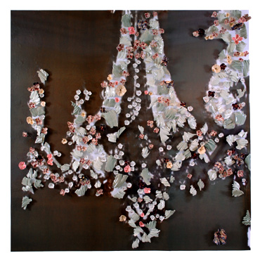 """""""Sin Titulo"""" a collaborative installation with Janet Neuwalder"""