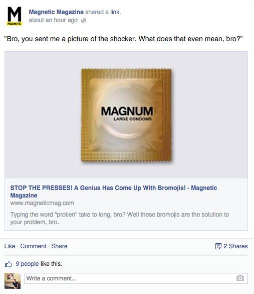 Magnetic Magazine .