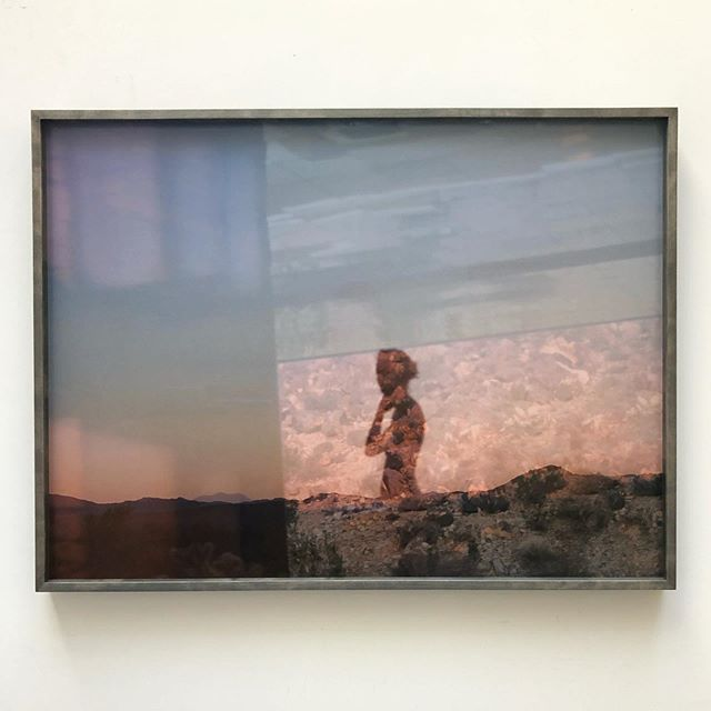 "Dreamy Mona Kuhn print from her 2014 series ""She Disappeared into Complete Silence"" - framed in cool gray maple"