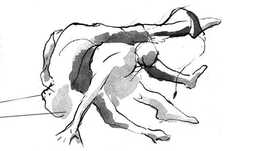 Dibujo, el esqueleto de la acuarela - Pautas para tus bocetos o dibujos previos a la mancha