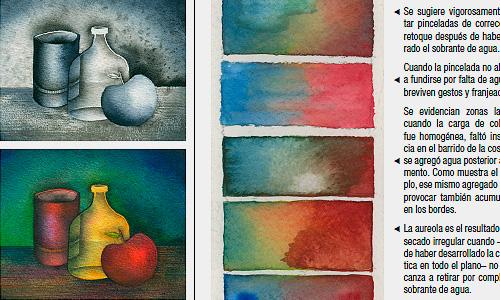 Transición policromada - Pasajes suaves y parejos entre colores.