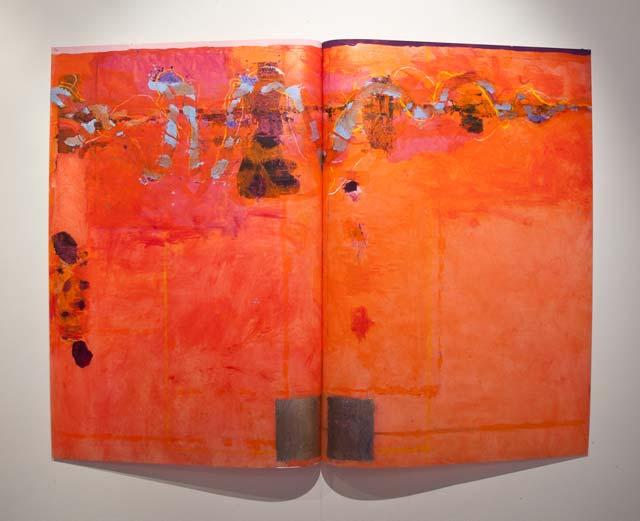 "Thomas Magnusson: ""Dance"". Oil on acrylic plastic, 100 x 133 cm"