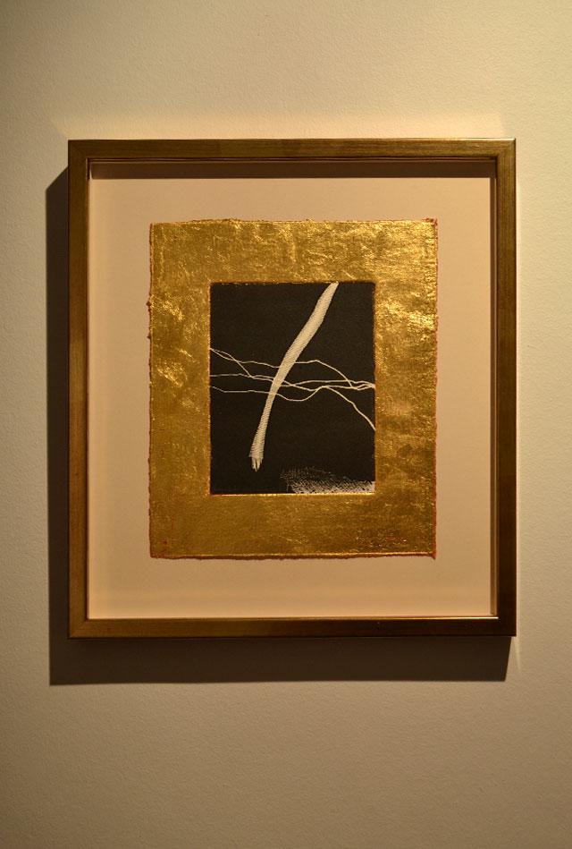 "Ragnhild Alexandersson: ""Medusa dreams"". Mixed media, 30 x 35 cm"