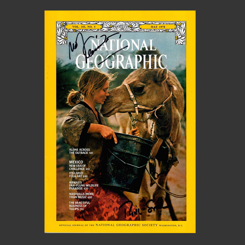 The memoir TRACKS was inspired by the article Robyn wrote for National Geographic