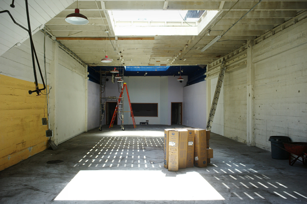 Before construction. Photo by Seth Dickerman.