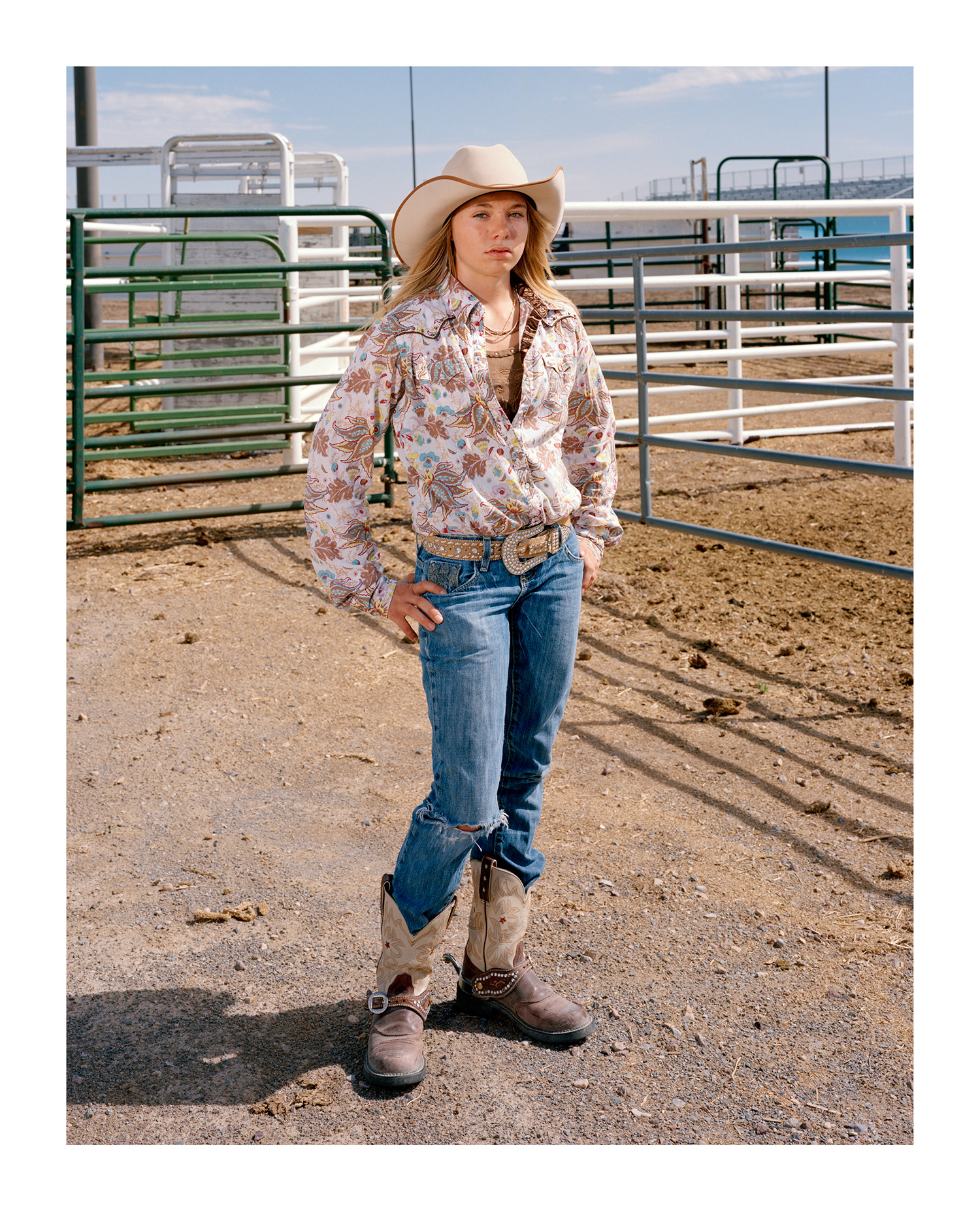 Junior Rodeo Cowgirl