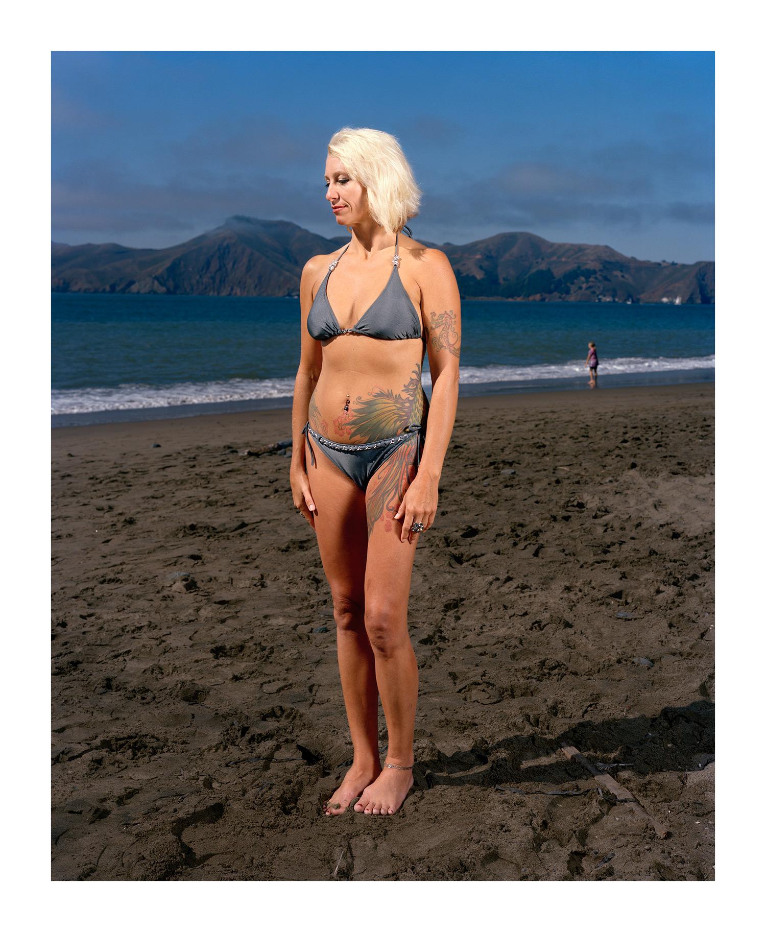 Woman on the Beach, San Francisco