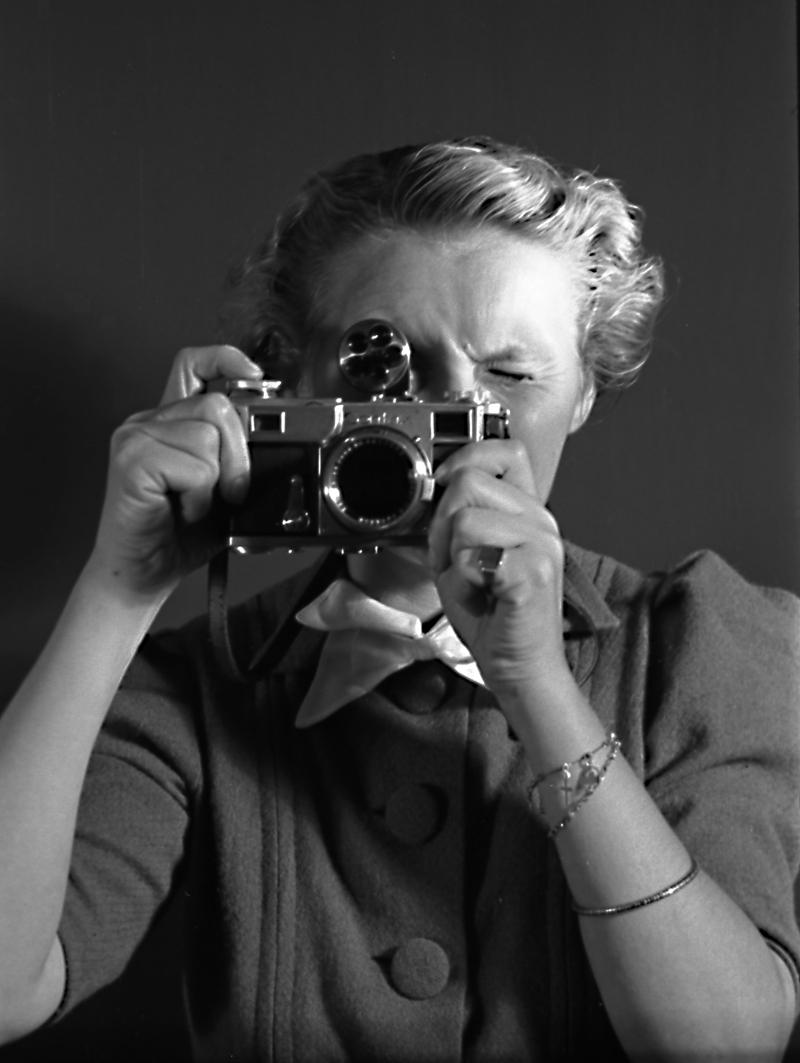 Annemie Wolff - Self Portrait Copyright: Monica Kaltenschnee