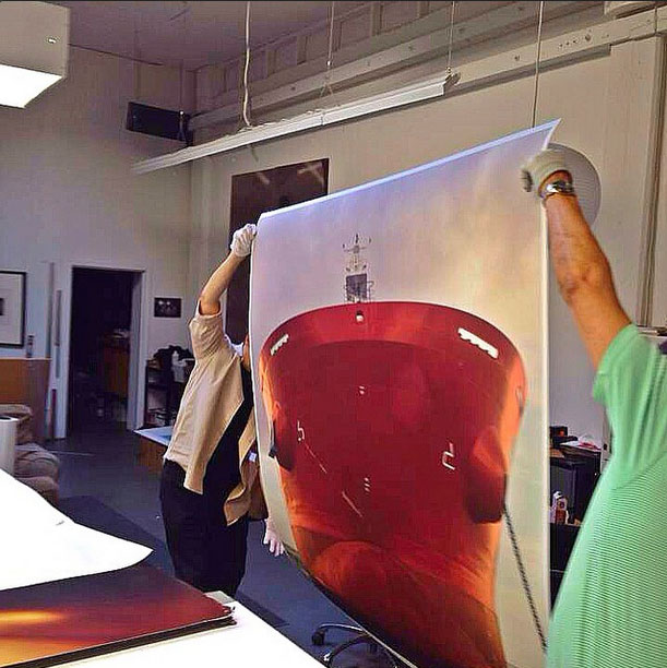Our Instagram feed provides a unique look at everyday life in a San Francisco fine art photo printing lab.