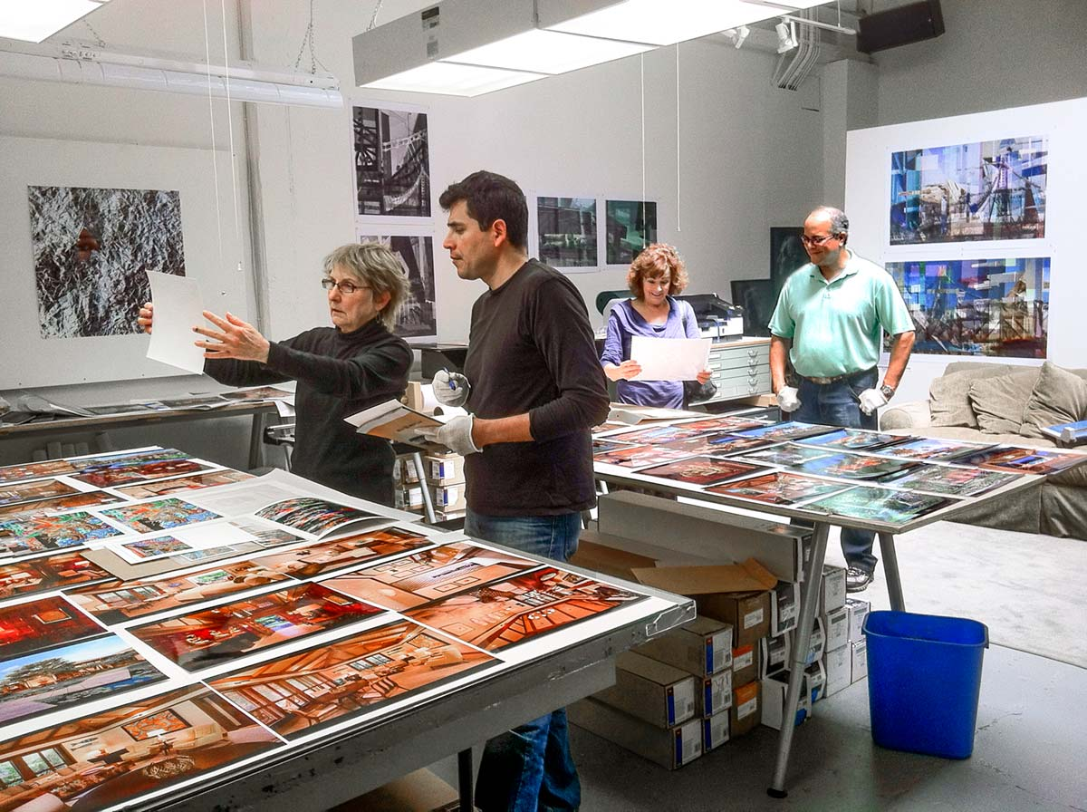 Behind the scenes at Dickerman Prints