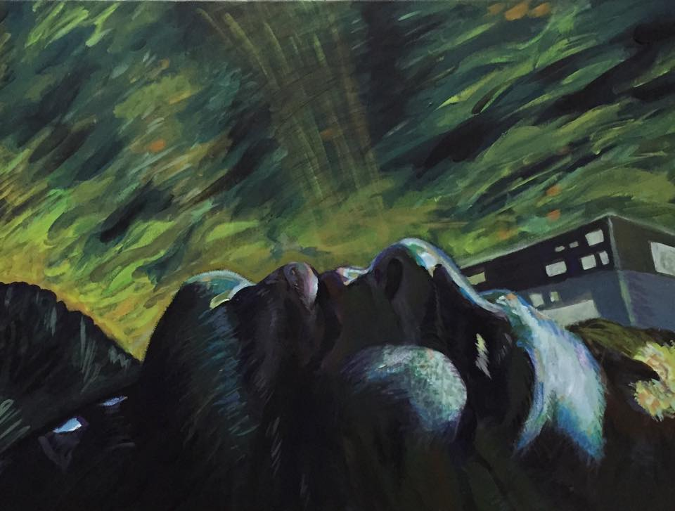 Paintings by Katherine Sokolova