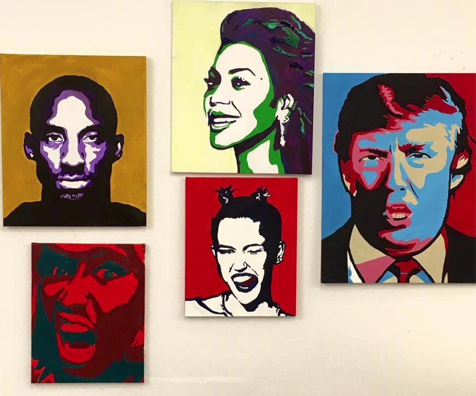 Paintings by Michaela Ben Yehuda