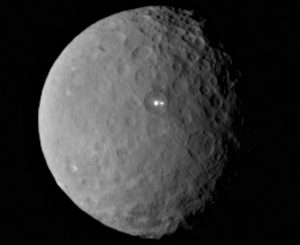Ceres, photo by NASA Ronald Greeley Center for Planetary Studies