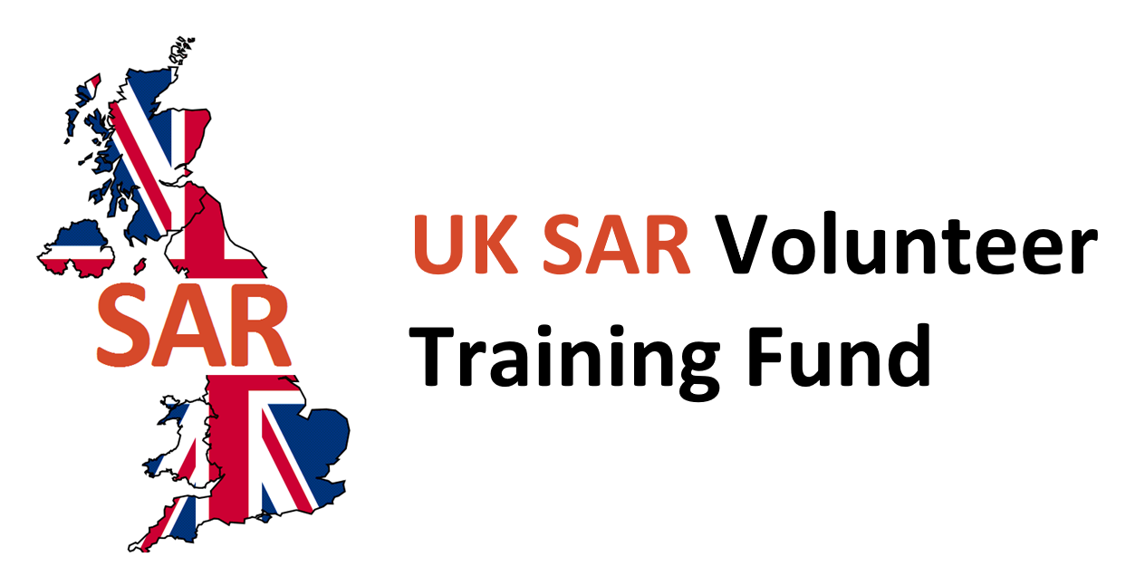 UK SAR Volunteer Training fund provides UK charitable search and rescue organisations with support to train volunteers. We were awarded £1,244 for our volunteers to undertake First Person on Scene training.
