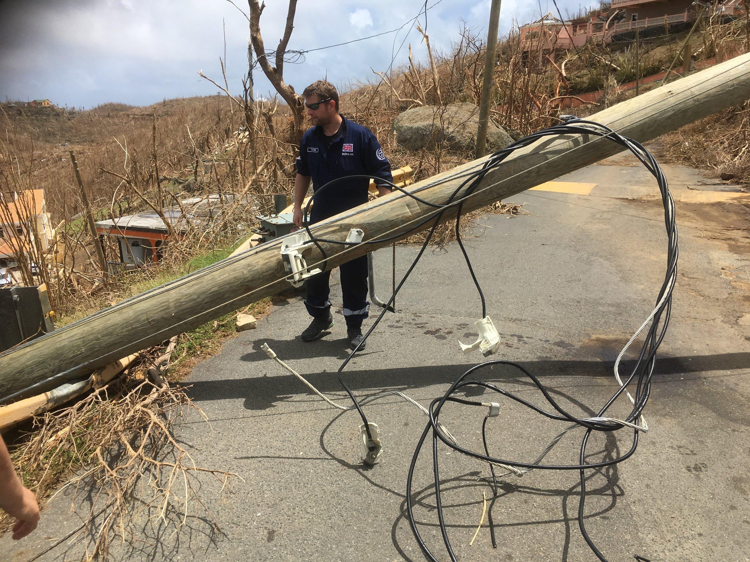 Tom Clearing Roads Tortola.JPG