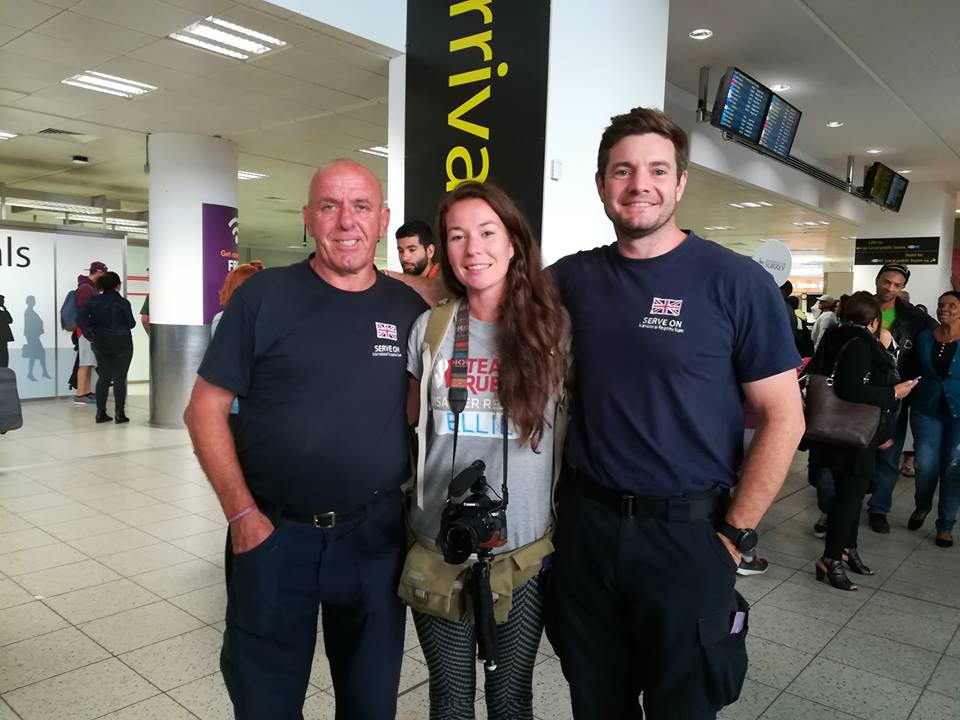 Roger, Ellie and Mark return after their excellent work on Tortola in the British Virgin Islands.