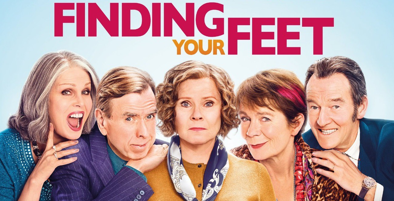 Serve On ambassador Joanna Lumley stars in rom-com Finding Your Feet with Timothy Spall, Imelda Staunton, Celia Imrie and David Hayman
