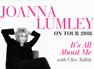 Serve On ambassador Joanna Lumley starts a nationwide tour in October.