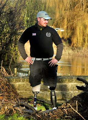 Serve On International Response Team volunteer Pete Dunning who has been selected to represent the UK at the Invictus Games