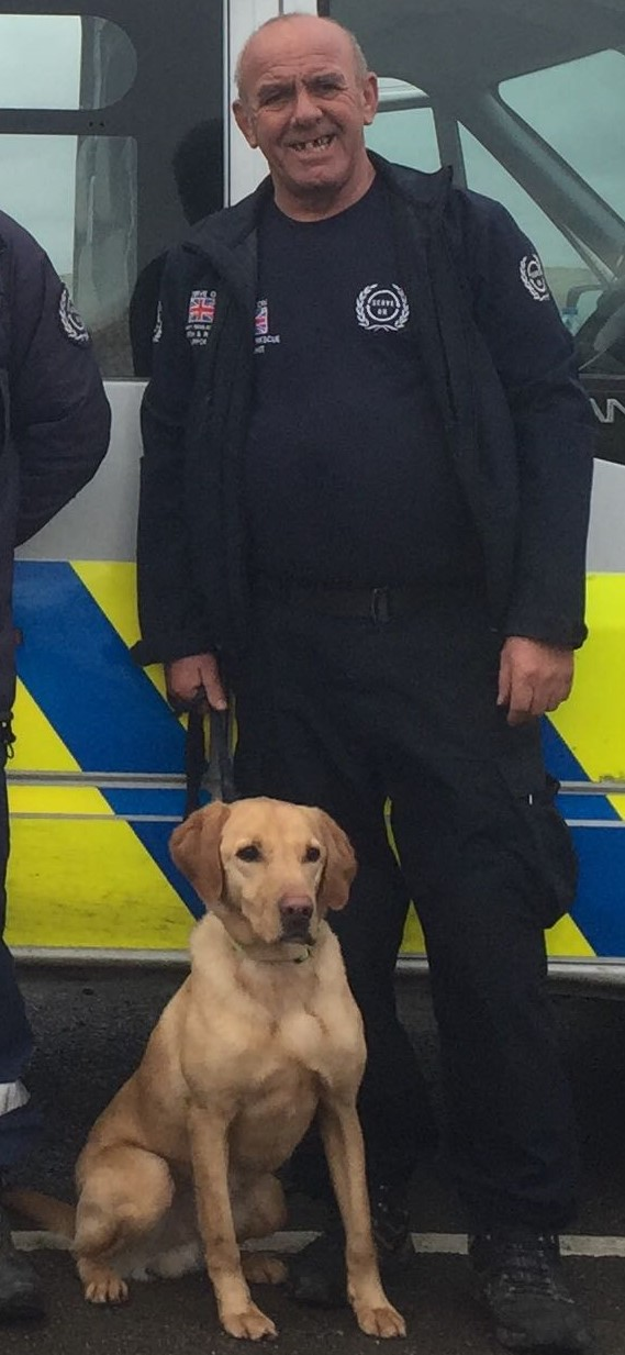 Serve On dog team 's Ziggy and handler Roger after they successfully passed their operational assessment.