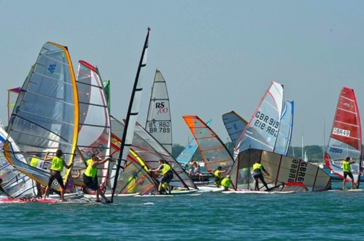 The Round Hayling Island Challenge is just one of the big events Serve On volunteers will be involved in this summer. Don't miss the boat! Picture by Hayling Island Sailing Club (HISC)