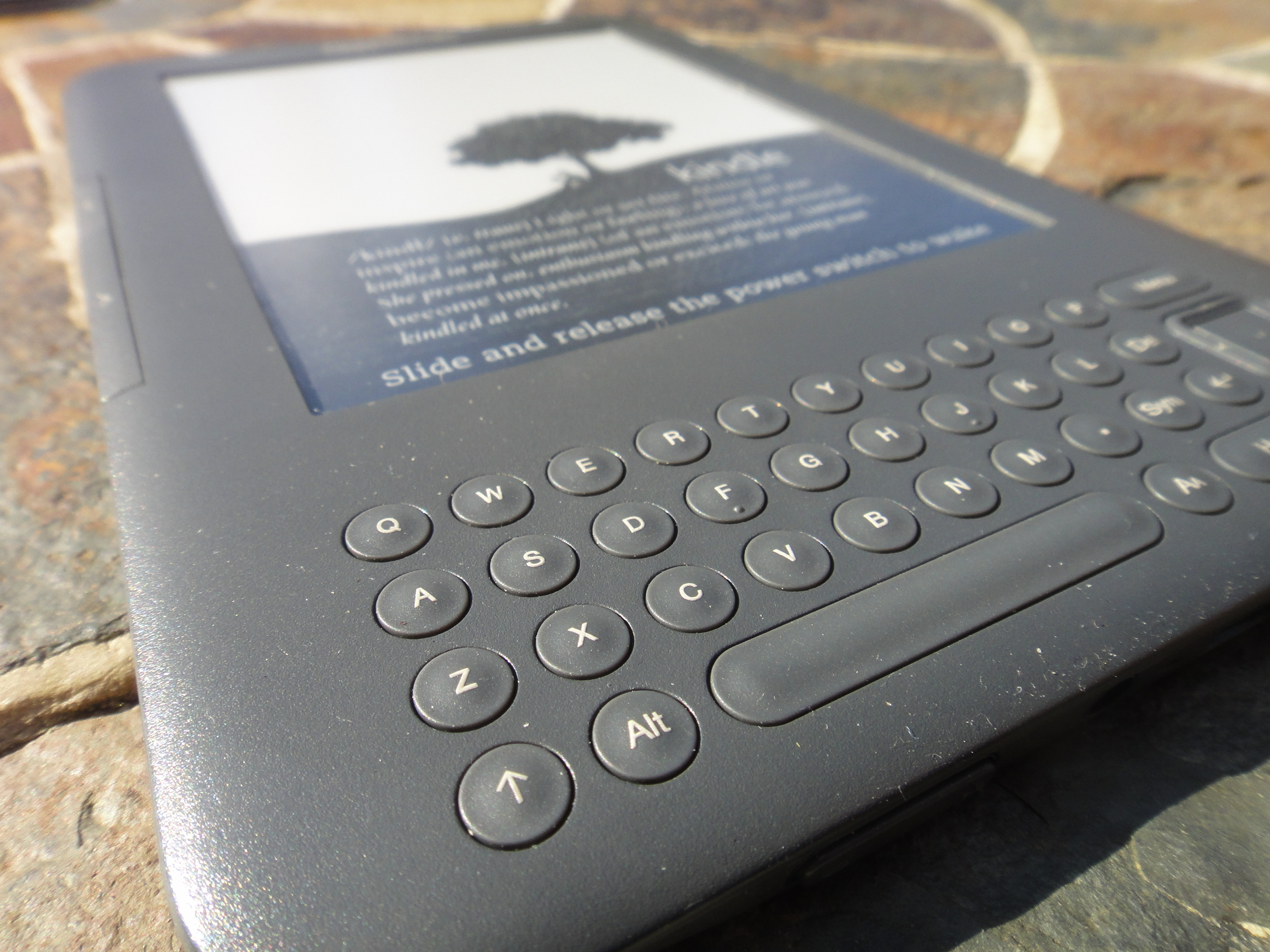 The Kindle Keyboard 3G