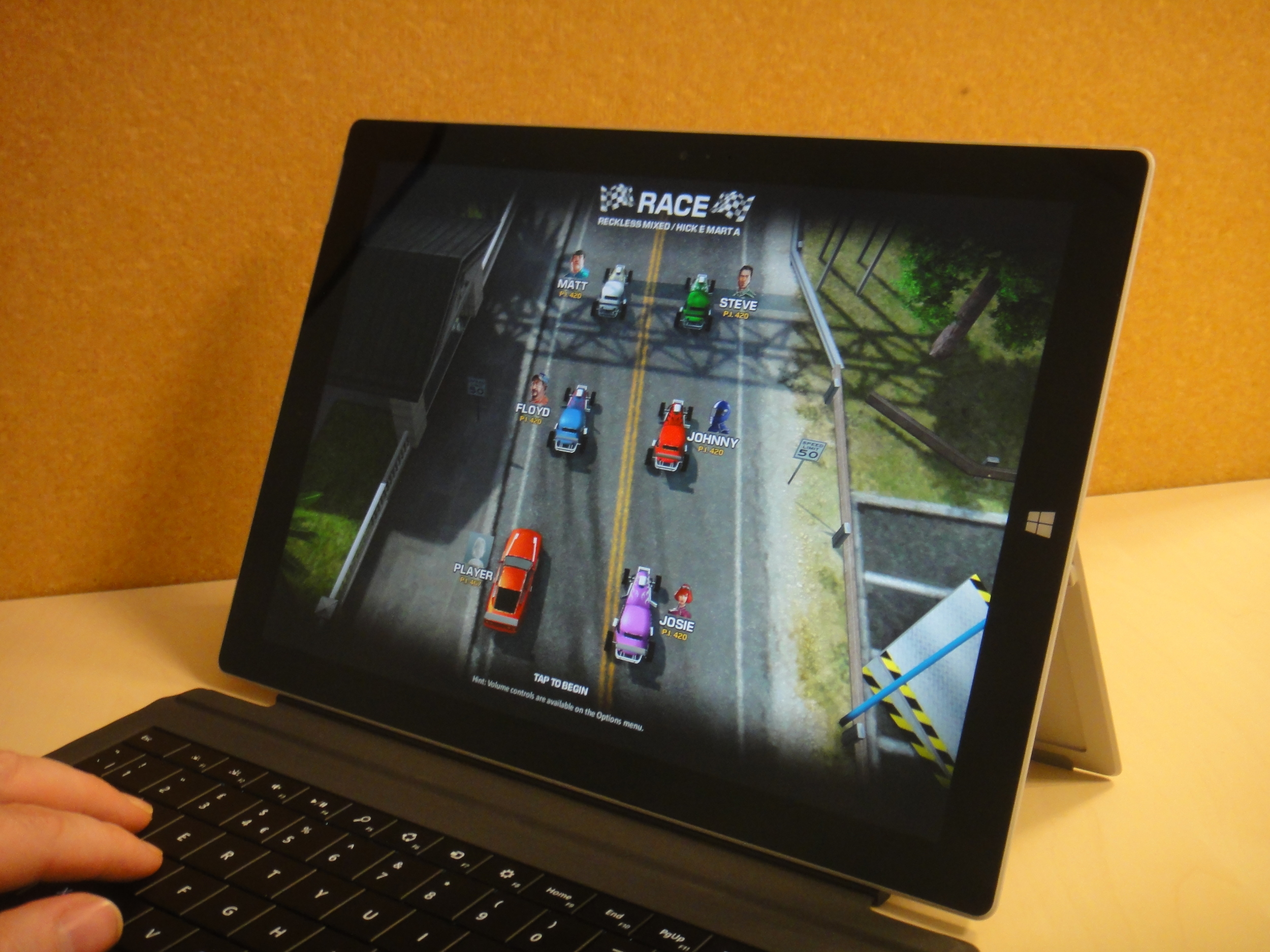 Top-down racer Reckless Racing includes online multiplayer
