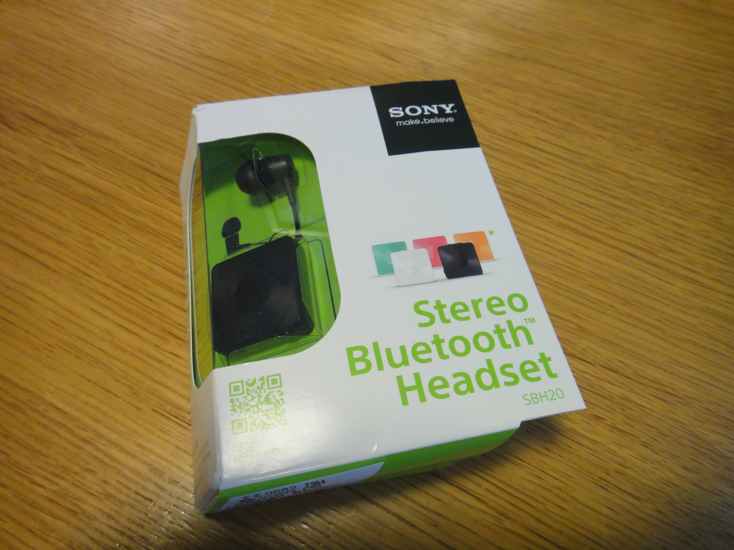 Sold as a bluetooth headset, the SBH20s have a trick up their sleeve...