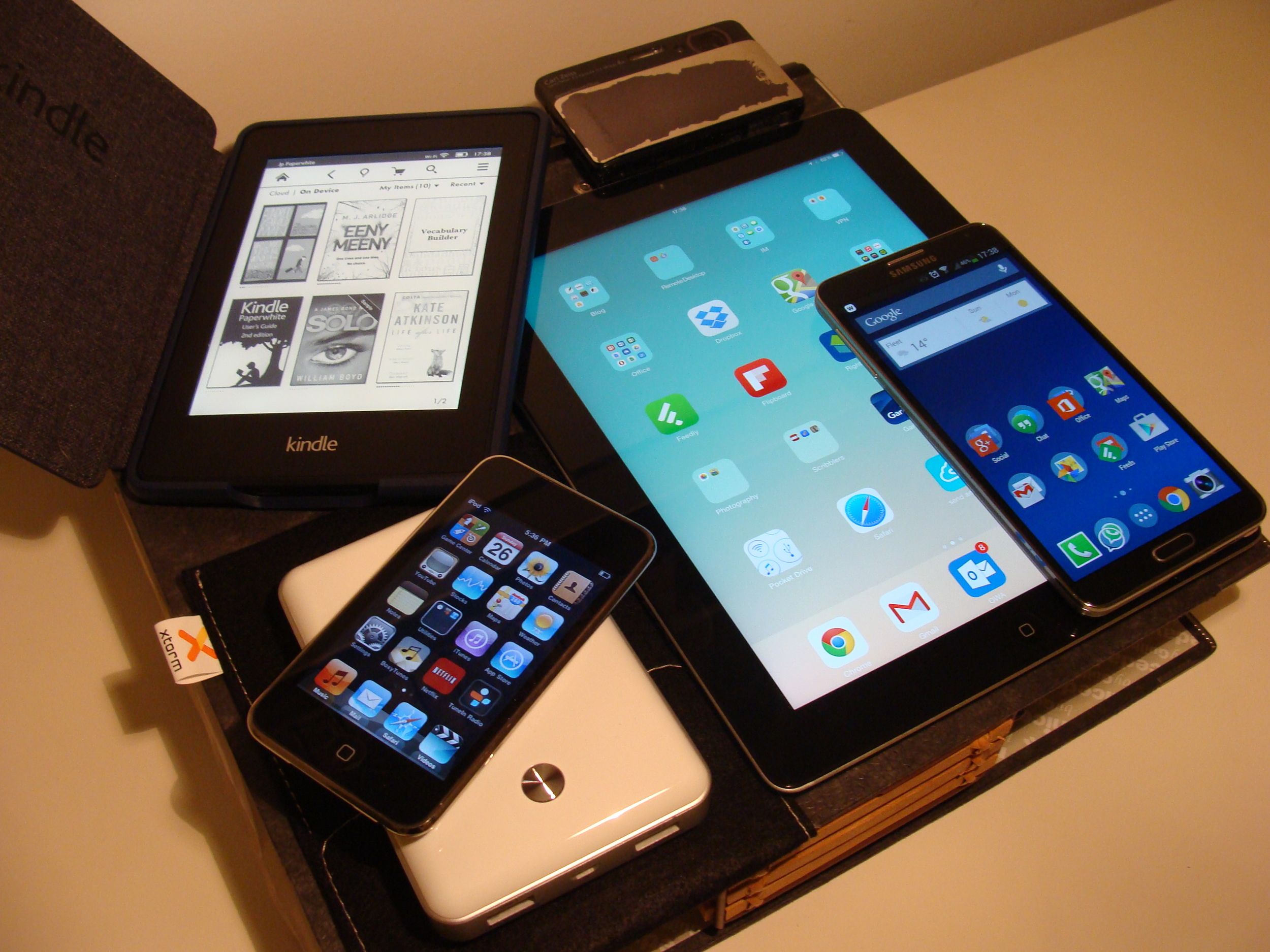 So many gadgets that want to go everywhere with us - how to keep them all going?