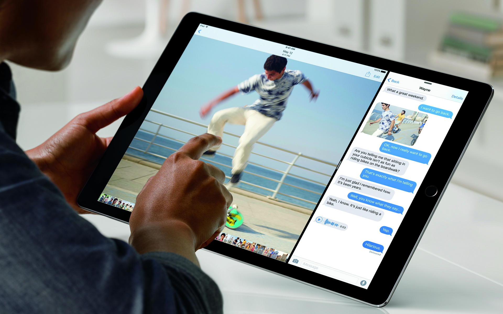 The iPad Pro from Apple is going after designers and artists first
