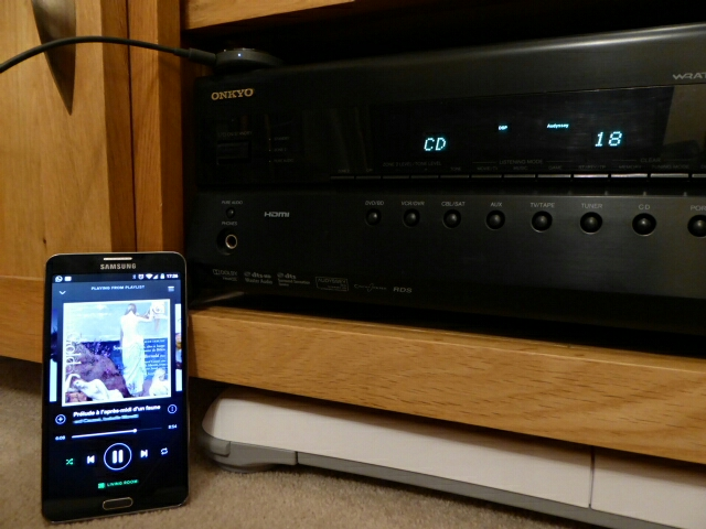 No need to replace the whole amp - £30 and it's wireless all the way!