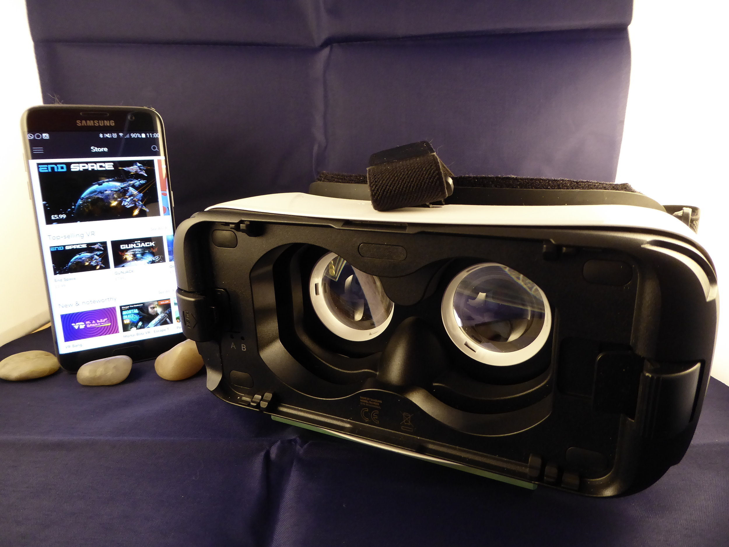 The Gear VR is a brilliant way to enjoy your content