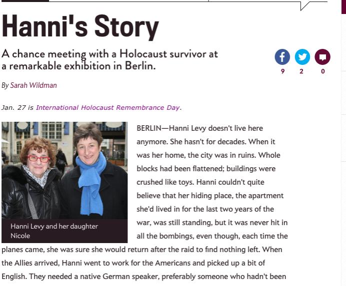 Hanni's Story