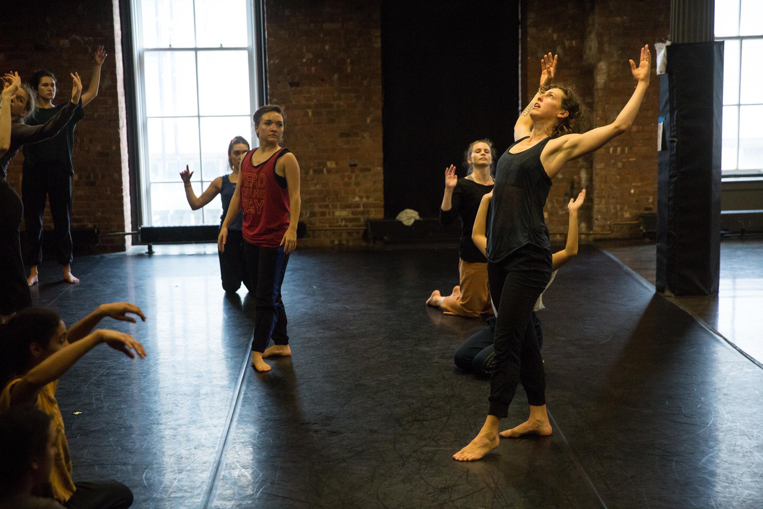 Photo by Scott Shaw. Gibney Dance Center.