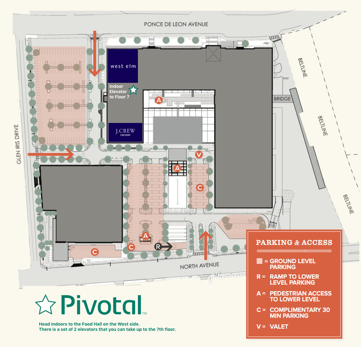 Pivotal Labs and Ponce City Market