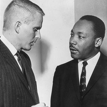 Hinckley Director J.D. Williams with Martin Luther King Jr.