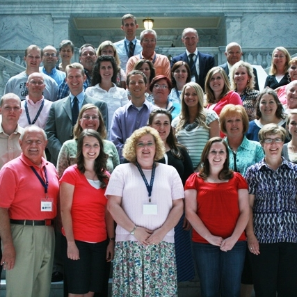 Each June, the Hinckley Institute hosts its annual   Huntsman Seminar for Teachers  . The five-day seminar is sponsored by the Jon and Karen Huntsman Foundation and focuses primarily on improving civic education in Utah schools.