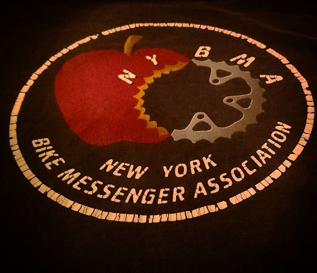 Market Street Cycles remembers. #nycmessengers